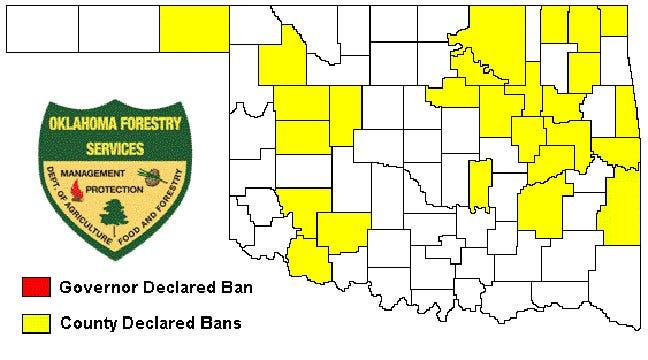 Tulsa, Other Oklahoma Counties Extend Burn Bans