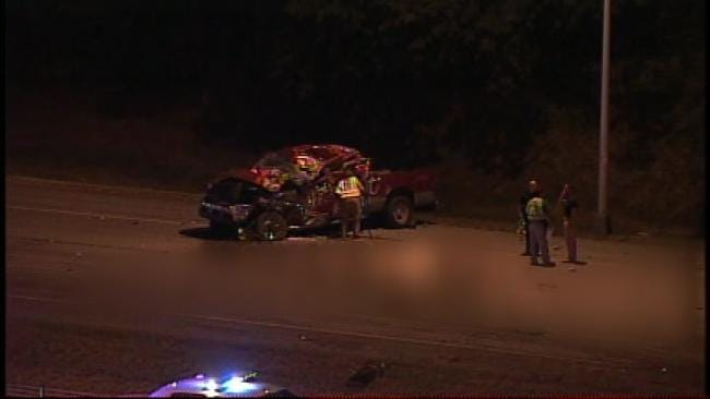 Deadly Rollover Crash Closes Eastbound Lanes of Highway 412