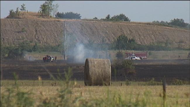 Investigators Call Grass Fire That Burned 50 Acres 'Suspicious'