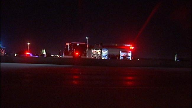 Mattress In Roadway Causes Tulsa Highway Crash
