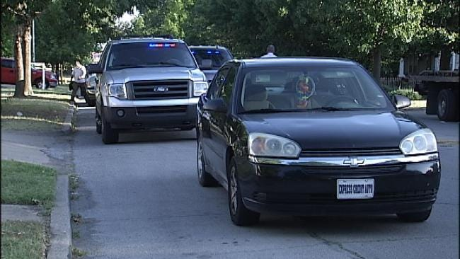 Tulsa Police Arrest Woman Driving Car Seen In Best Buy Surveillance Video