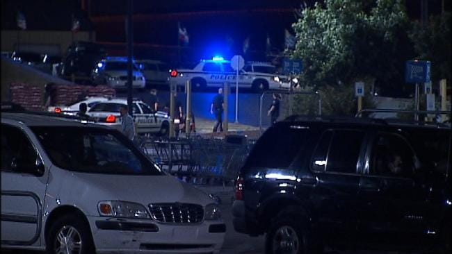 Police Search Tulsa Walmart After Man Fires Gun Into Air
