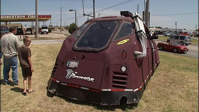 'The Dominator' Storm Chaser Vehicle Makes Stop In Tulsa