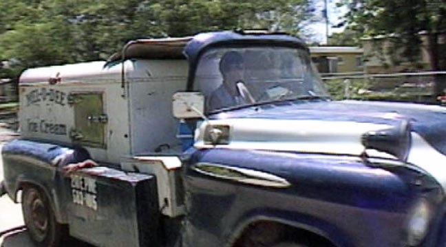 From The KOTV Vault: Classic Trucks Deliver Ice Cream In 1984