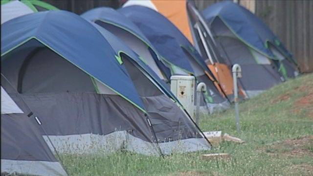 New Oklahoma Law Moves Some Sex Offenders From Homes, Into Tents