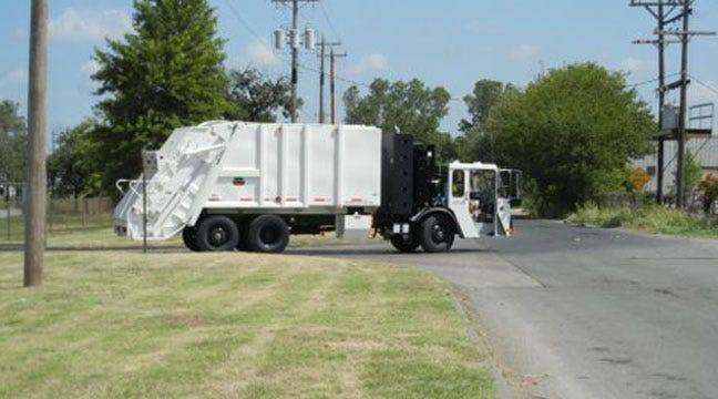 Tulsa Trash Pickup Gets New Trucks, New Service