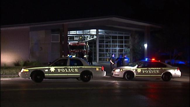 Tulsa Fire Station Vandalized