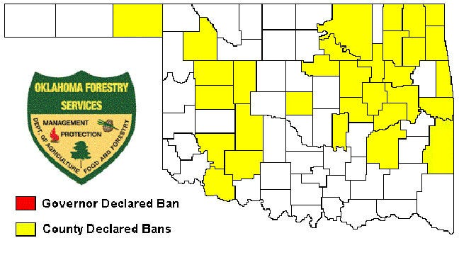 Tulsa, Rogers Counties Extend Burn Ban Restrictions