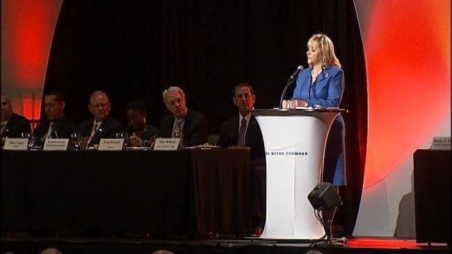 Governor Mary Fallin Addresses Tulsa Business Leaders