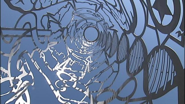 New Sculpture At OSU Health Sciences Center Reflects Scope Of Learning