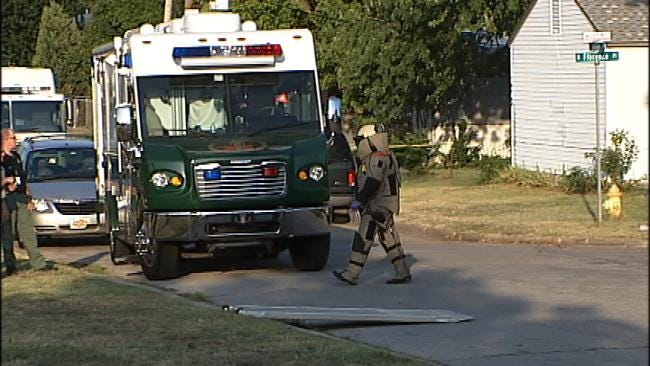 Three Arrested After Explosive Chemicals Found In North Tulsa Home