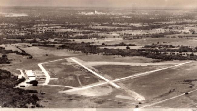 Tulsa Neighborhood Street Used To Be Airport Runway