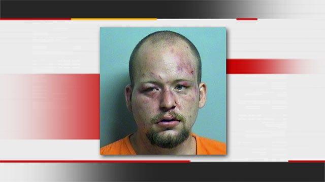 Man Arrested After Crashing Into North Tulsa Bar