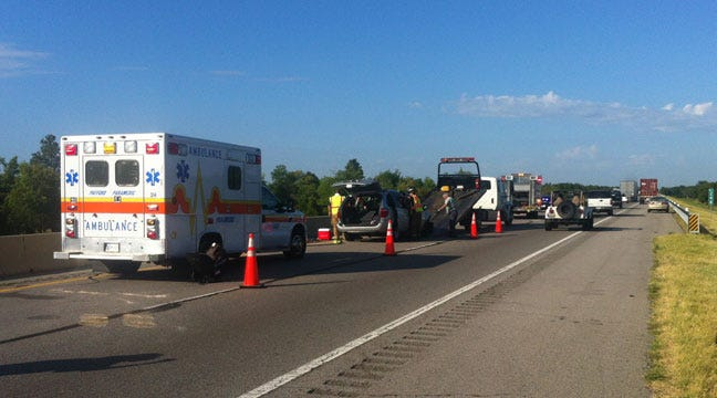 OHP: Sleepy Driver Crashes On Will Rogers Turnpike Near Claremore