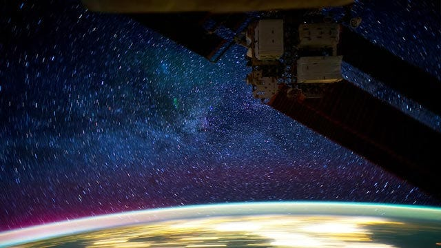WEB EXTRA: Video From International Space Station Of Earth At Night