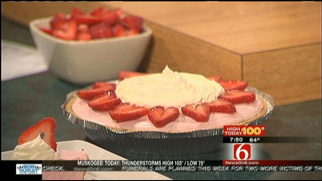 Strawberry Whipped Pie