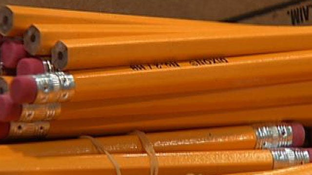 Tulsa City Council, Firefighters Team Up For School Supplies Drive