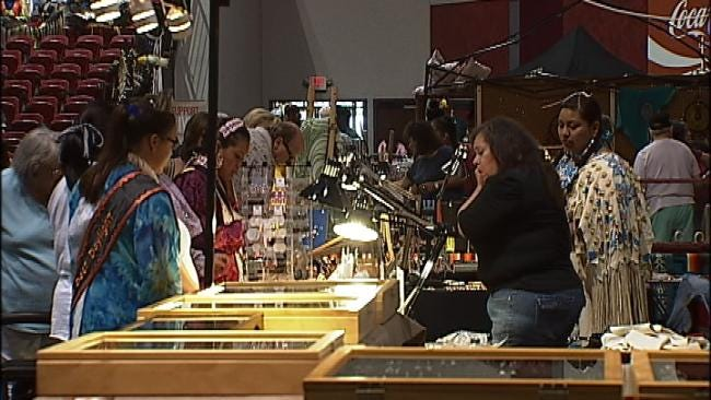 Indian Tribes From Across Nation Gather For Tulsa Powwow