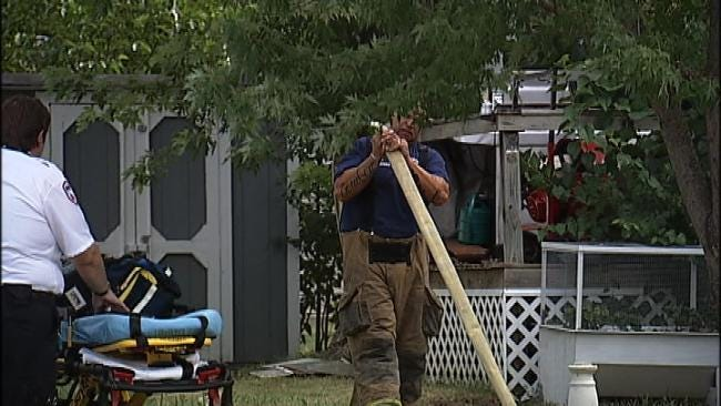 Possible Cause Of Death In East Tulsa Trailer Home Fire Released