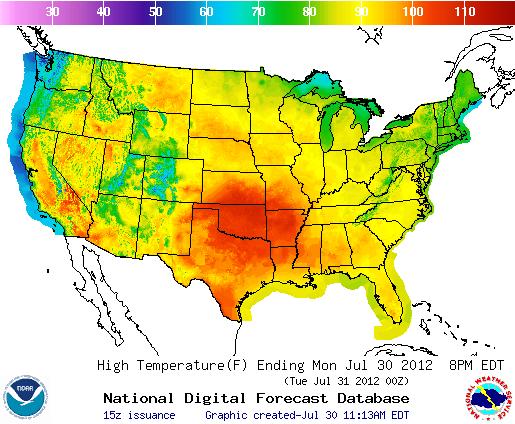 Records Fall As Temperatures Soar