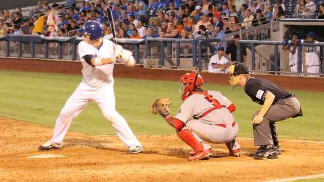 Drillers Capture Win With Two Run Eighth Inning