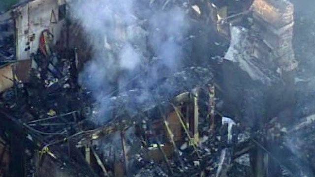 Jenks Home Burns To The Ground