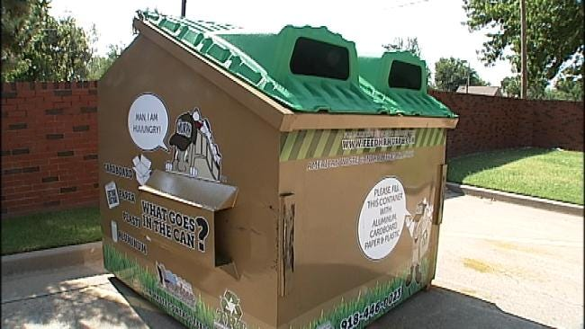 Recycling Drop-Off Points Benefit Tulsa School Children