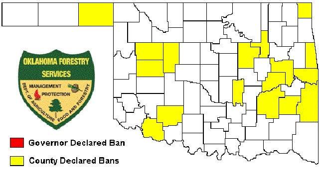 McIntosh County Commissioners Adopt Burn Ban