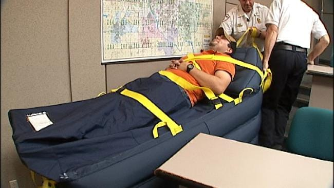 New Technology Makes Lifting Patients Easier For Paramedics