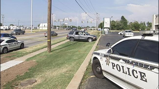 Wife Arrested After Tulsa SUV Driver Found Stabbed
