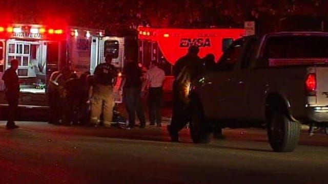 Man Struck By Truck, Seriously Injured In Downtown Tulsa