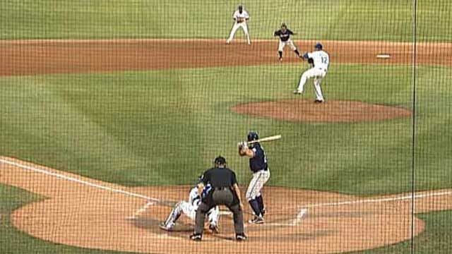 Drillers Down Travelers 5-1 Behind Houston's Great Outing