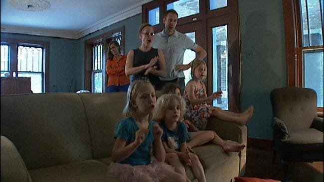 Busy Tulsa Family Catches Thunder Fever By Accident