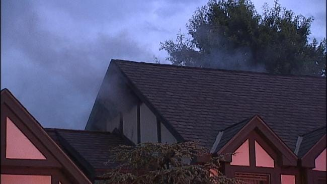 Lightning Strike Believed To Be Cause Of Tulsa House Fire