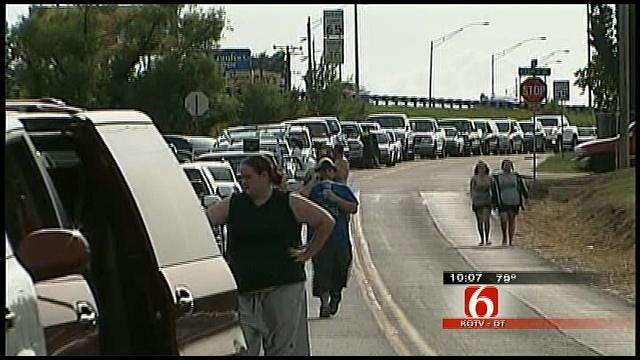 Thousands Line Up For Re-Opening Of Tulsa's Admiral Twin