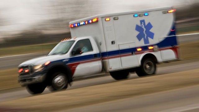 EMSA Ambulance Stationed In Bixby