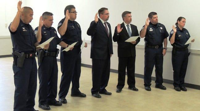 Cherokee Nation Deputies Sworn In By U.S. Marshals Service