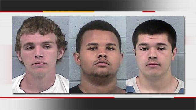 Rogers County Trio Busted For Hitting 'Licks'