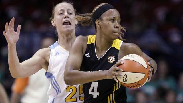 Tulsa Shock Re-Signs Amber Holt