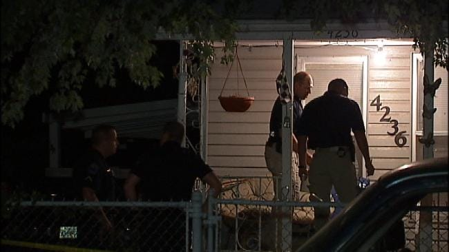 No One Injured As Bullets Strike West Tulsa Home