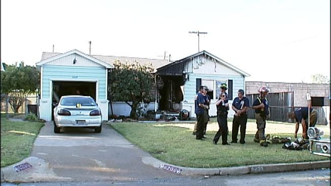 Apparent Meth-Related Tulsa House Fire Reignites Sunday Morning
