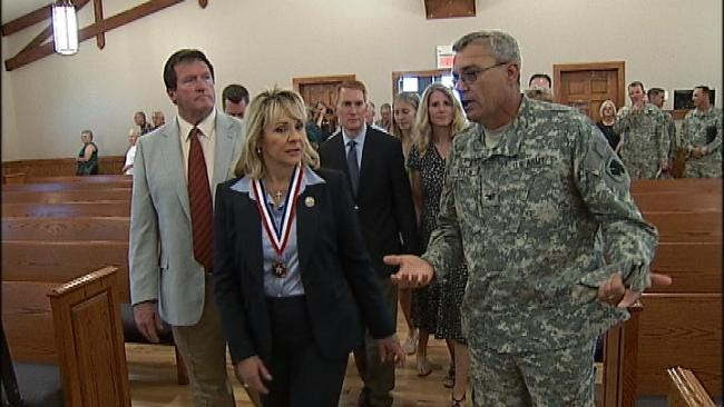 Thunderbird Chapel At Camp Gruber 'A Gift' To Oklahoma Soldiers