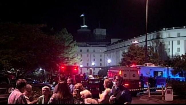 Explosion In Nashville Hotel Shakes Up Tulsa's Sheriff's Department