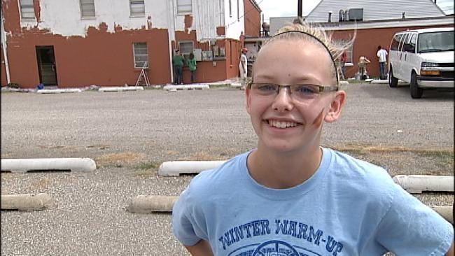 Teens in 'World Changers' Program Help Paint Catoosa Church