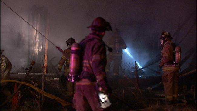 Arson Suspected In North Tulsa House Fire