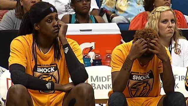 Shock Drop Ninth Consecutive Road Game At Los Angeles