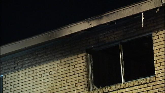 Investigators: Arson To Blame For Friday Morning Tulsa Apartment Fire