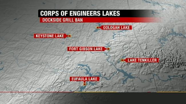 Keystone Lake Boaters React To Marina Gas, Propane Grill Ban