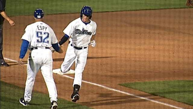 Tulsa Drillers Use Long Ball To Down Springfield