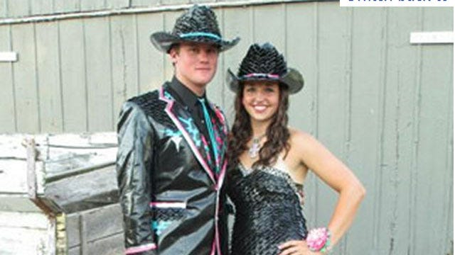 Kansas Teen Finalist In Duct Tape Prom Competition